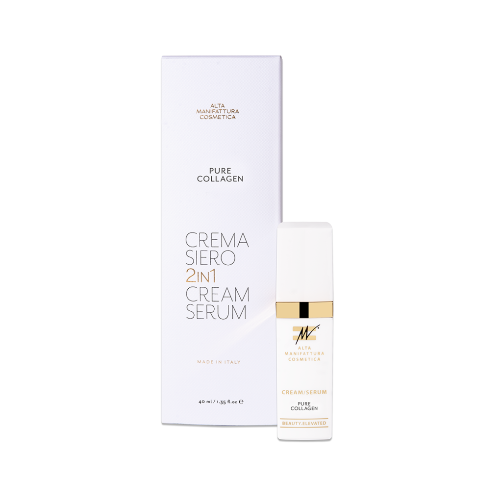 pure collagen crema siero